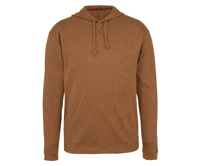 Walden Hooded Thermal, Tobacco Heather, dynamic