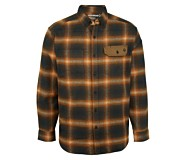 Wyatt Long Sleeve Flannel, Black, dynamic