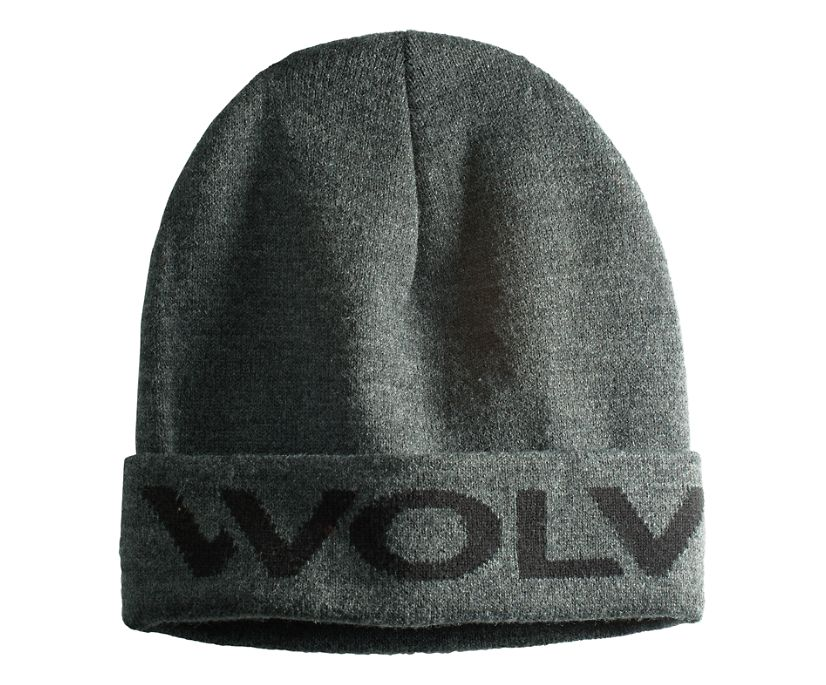 Logo Watch Cap, Granite Heather, dynamic