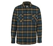 FR Plaid Jacket, Dark Navy Plaid, dynamic