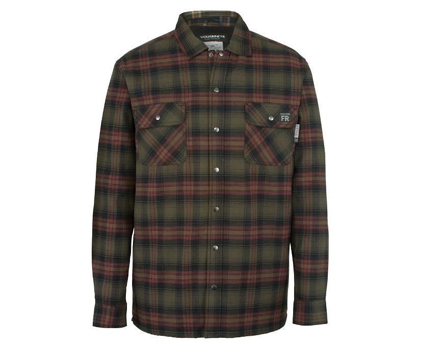 FR Plaid Jacket, Oxblood Plaid, dynamic