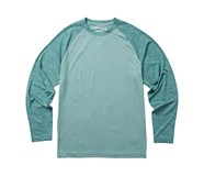 Sun Stop Long Sleeve Crew, Artic Camo, dynamic