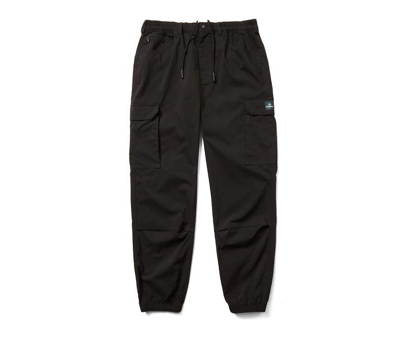 Douglas Cargo Pant, Black, dynamic
