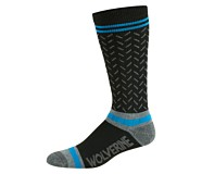 3PK Single Shift Plus Crew Sock, Black, dynamic