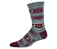 BLVD Crew Sock, Grey, dynamic