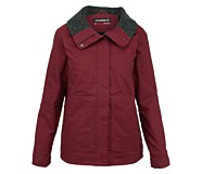 Ethelwood Jacket, Cranberry, dynamic