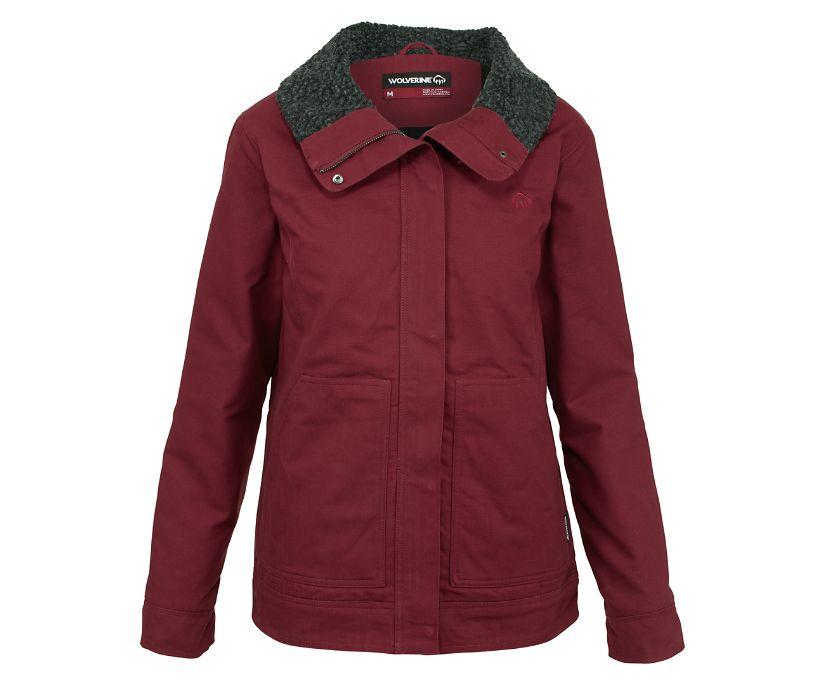 Ethelwood Jacket, Cranberry, dynamic