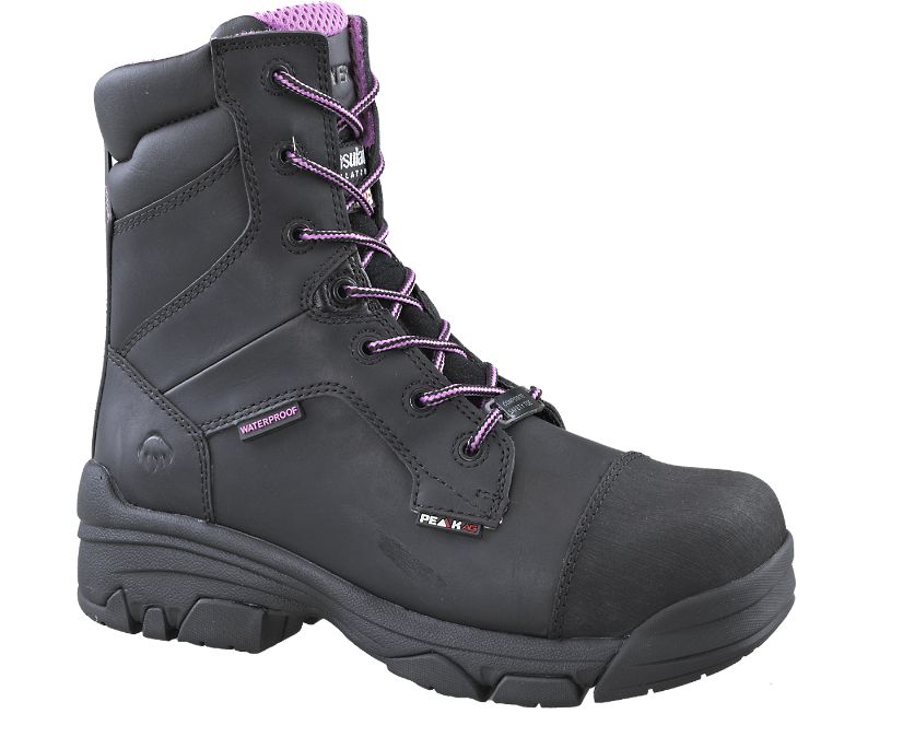 "Condor 8"" CSA (Composite Toe, Waterproof), Black, dynamic"