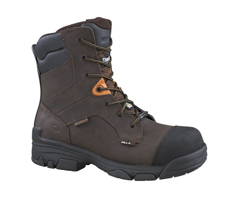 "Condor 8"" CSA (Composite Toe, Waterproof), Brown Americana, dynamic"