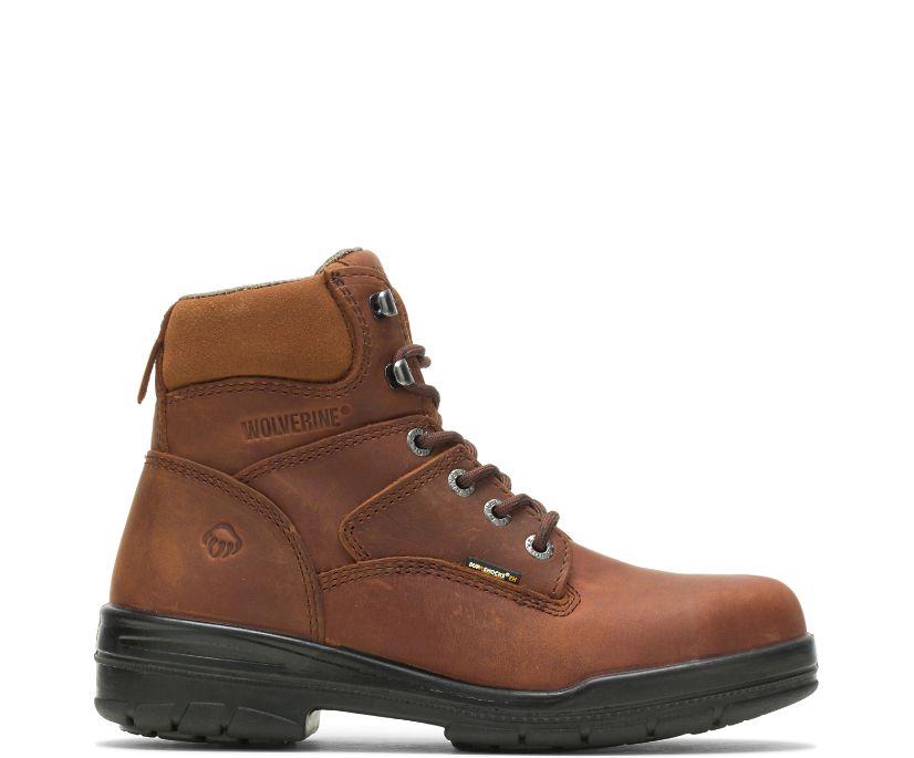 "DuraShocks® Slip Resistant Steel-Toe 6"" Work Boot, Canyon, dynamic"
