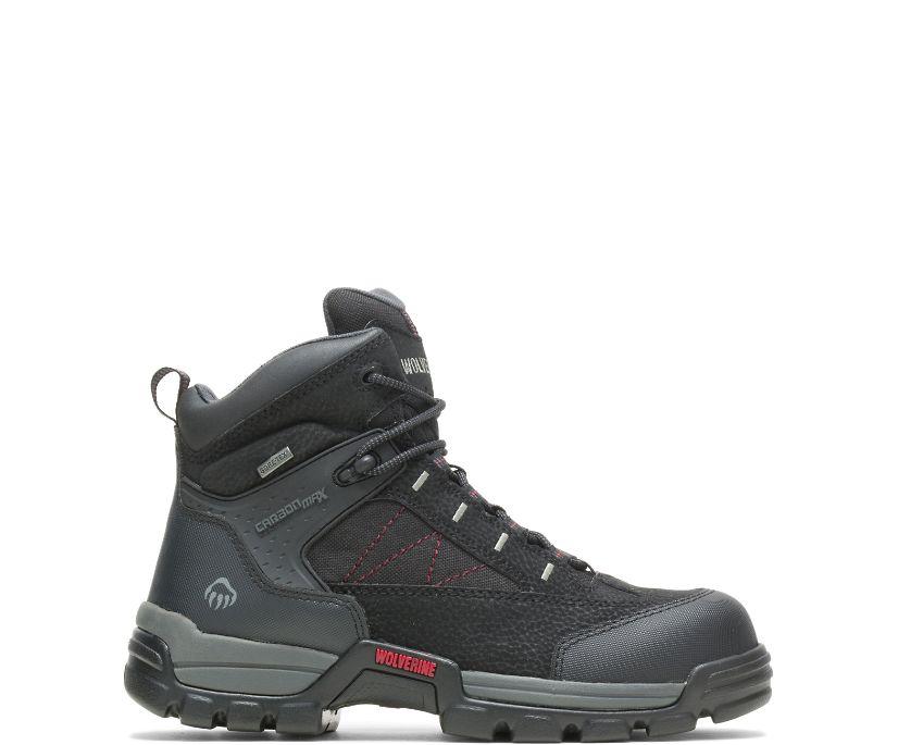 "Amphibian Composite-Toe EH Waterproof 6"" Work Boot, Black, dynamic"