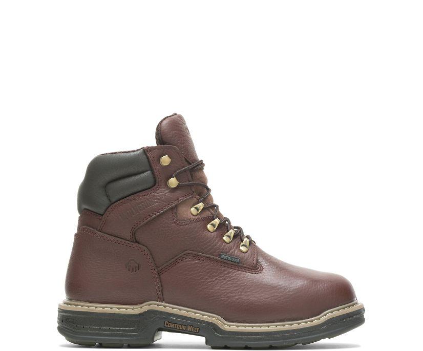 """Darco Waterproof Metatarsal Guard Steel-Toe 6"""" Work Boot, Brown, dynamic"""