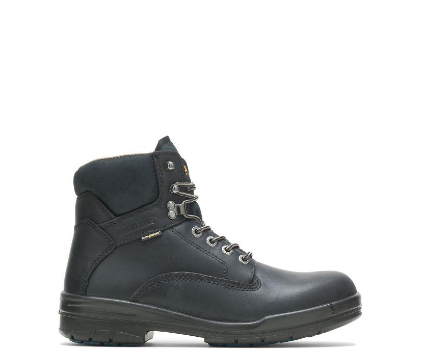 "DuraShocks® SR Direct-Attach Lined 6"" Work Boot, Black, dynamic"