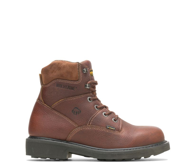 "Tremor DuraShocks® 6"" Work Boot, Brown, dynamic"