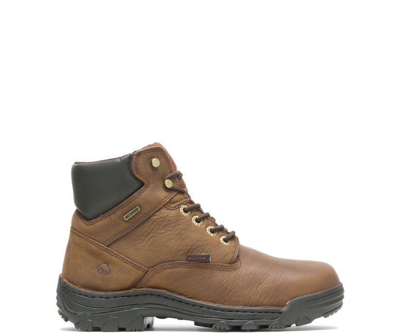 """Durbin Waterproof 6"""" Work Boot, Brown, dynamic"""
