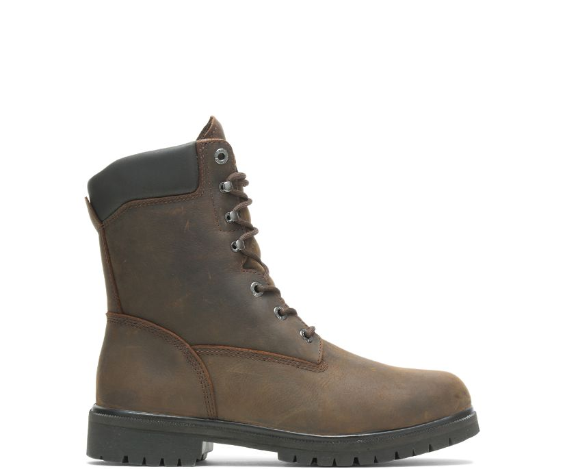 "Mansard Insulated 8"" Boot, Brown, dynamic"
