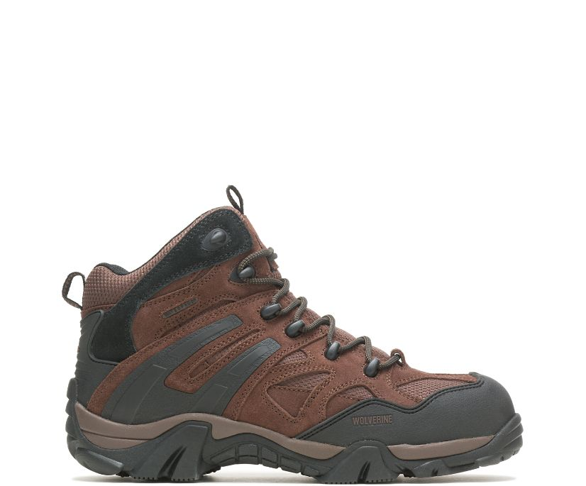 Wilderness Composite Toe Boot, Brown, dynamic