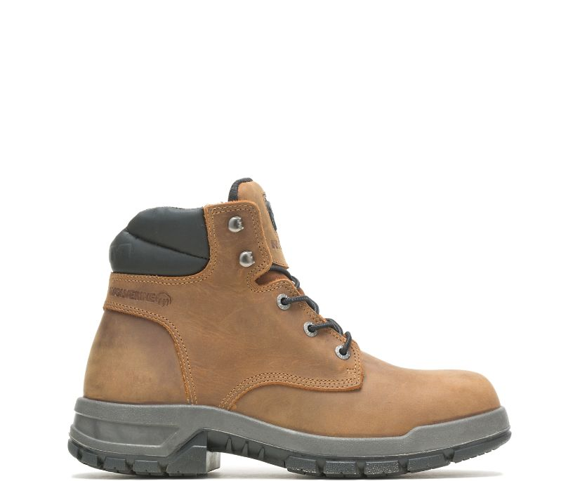 Ram Trucks Collection – Tradesman Safety Toe Work Boot, Brown, dynamic