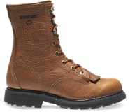 "Herrin 8"" Kiltie Lacer Work Boot, Brown, dynamic"