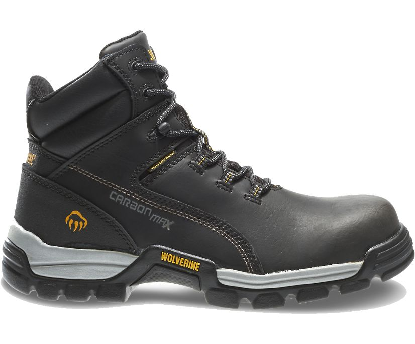 "Tarmac Waterproof Reflective Composite-Toe 6"" Work Boot, Black, dynamic"