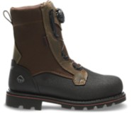 "Drillbit Oil Rigger Waterproof BOA® Steel-Toe 8"" Work Boot, Brown, dynamic"
