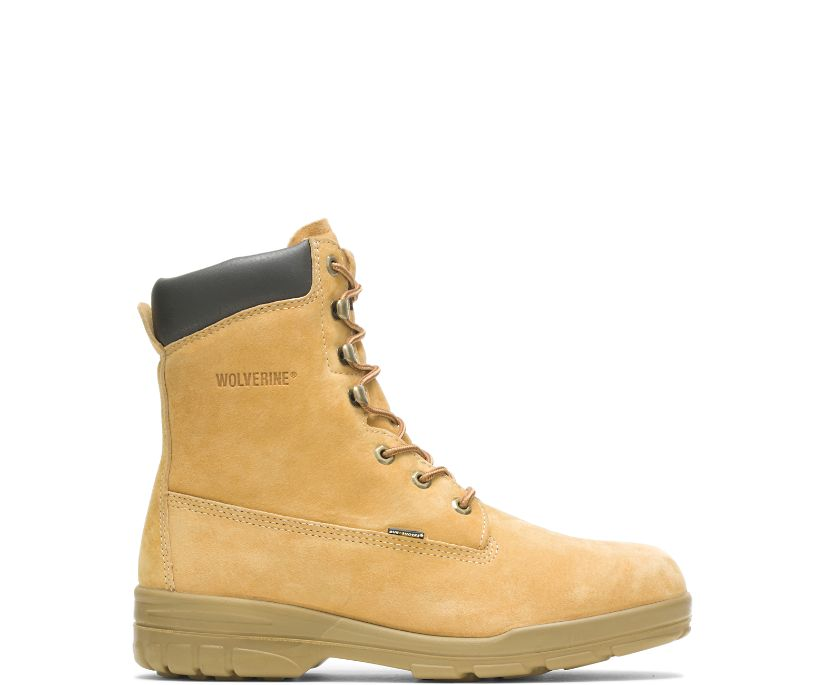 """Trappeur Insulated 8"""" Work boot, Gold, dynamic"""