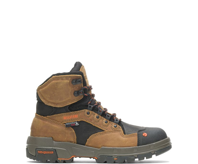 "Legend DuraShocks CarbonMAX® 6"" Boot, Tan, dynamic"
