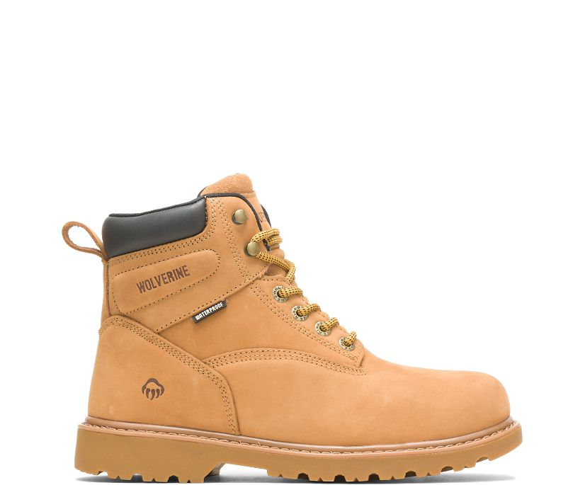 "Floorhand Waterproof 6"" Work Boot, Wheat, dynamic"