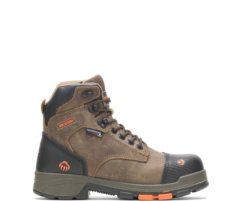 "Blade LX Waterproof CarbonMAX 6"" Boot, Chocolate Chip, dynamic"