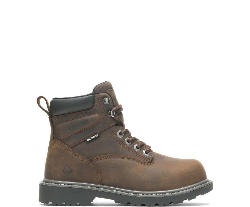 """Floorhand 6"""" Steel Toe Boot, Brown, dynamic"""
