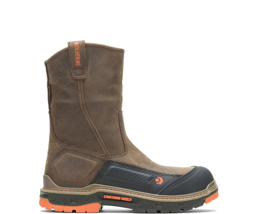 Overpass CarbonMAX Wellington Boot, Dark Coffee, dynamic