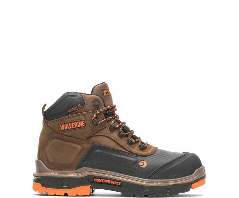 "Overpass CarbonMAX 6"" Boot, Brown, dynamic"