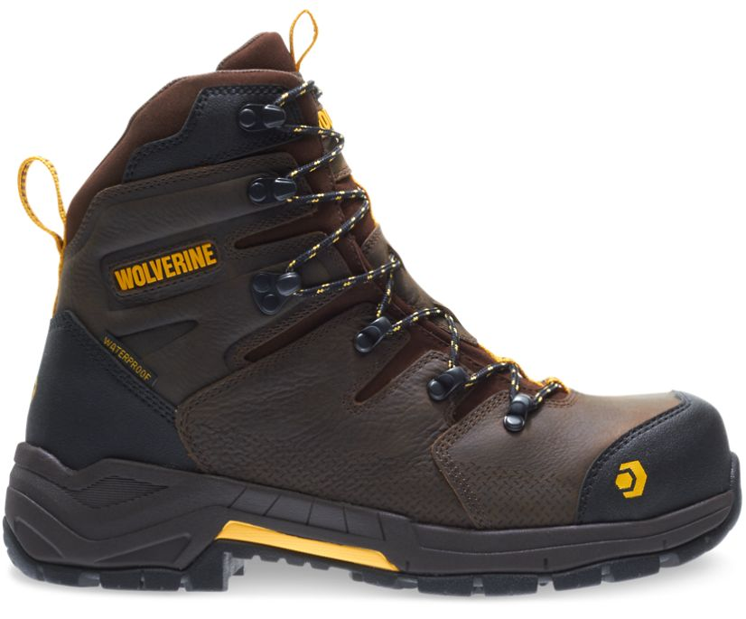 """Contractor LX CarbonMAX 8"""" Work Boot, Dark Coffee, dynamic"""