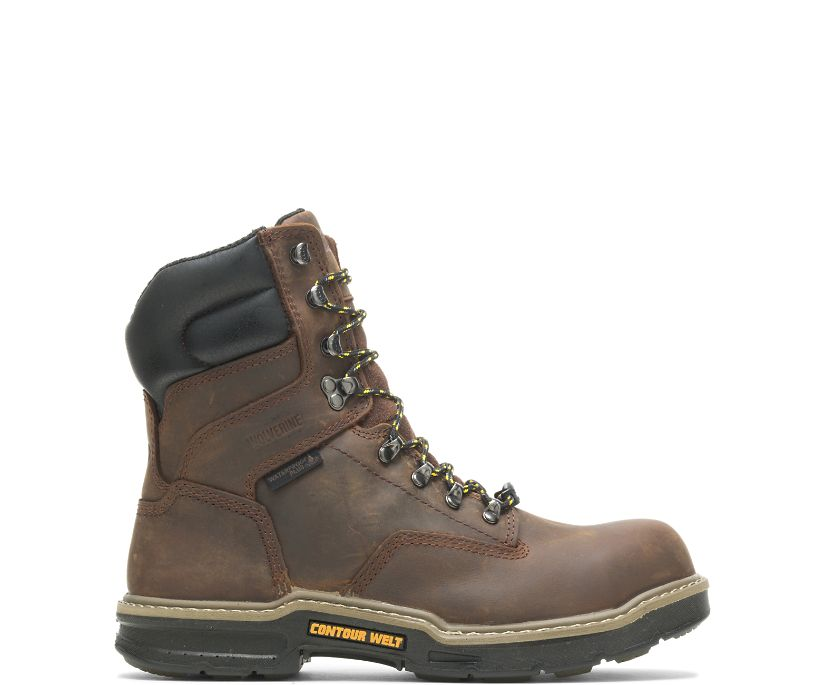 "Bandit Waterproof CarbonMAX® 8"" Boot, Brown, dynamic"