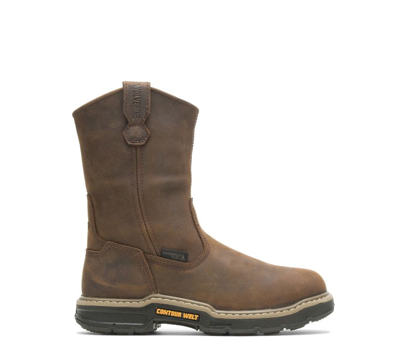 """Bandit Waterproof CarbonMAX® 10"""" Wellington, Brown, dynamic"""