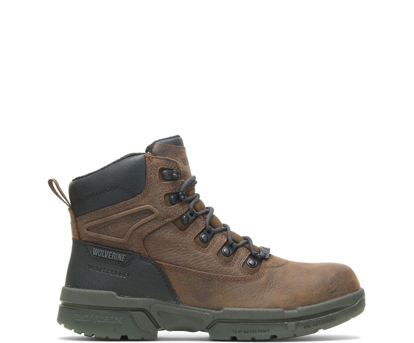"I-90 DuraShocks CarbonMAX® 6"" Boot, Brown, dynamic"