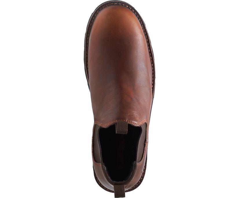Ranchero Steel-Toe Romeo, Brown, dynamic