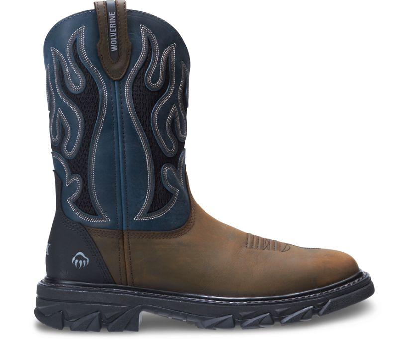 Ranch King CarbonMAX® Wellington, Brown/Blue, dynamic