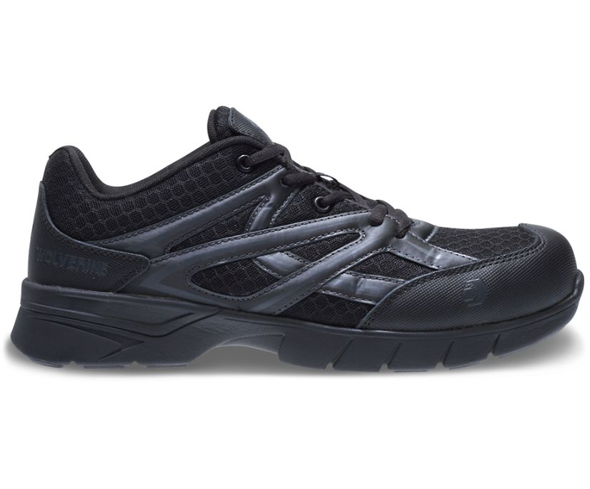 Jetstream CSA CarbonMax Safety Toe Shoe, Black, dynamic