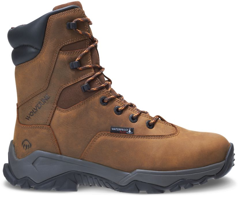 "Glacier II 8"" Boot, Brown, dynamic"