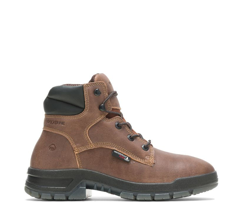 Limited Edition Ramparts Boot, Cognac Roadmaster, dynamic