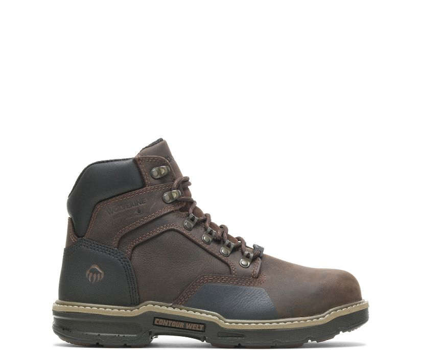 "Bandit Insulated CarbonMAX 6"" Boot, Dark Brown, dynamic"