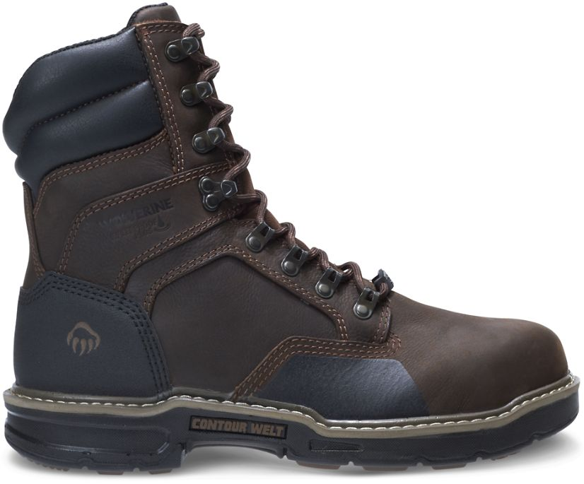 """Bandit Insulated CarbonMAX 8"""" Boot, Dark Brown, dynamic"""