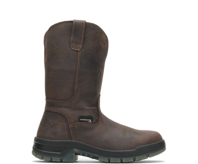 Ramparts CARBONMAX  Wellington Boot, Dark Brown, dynamic