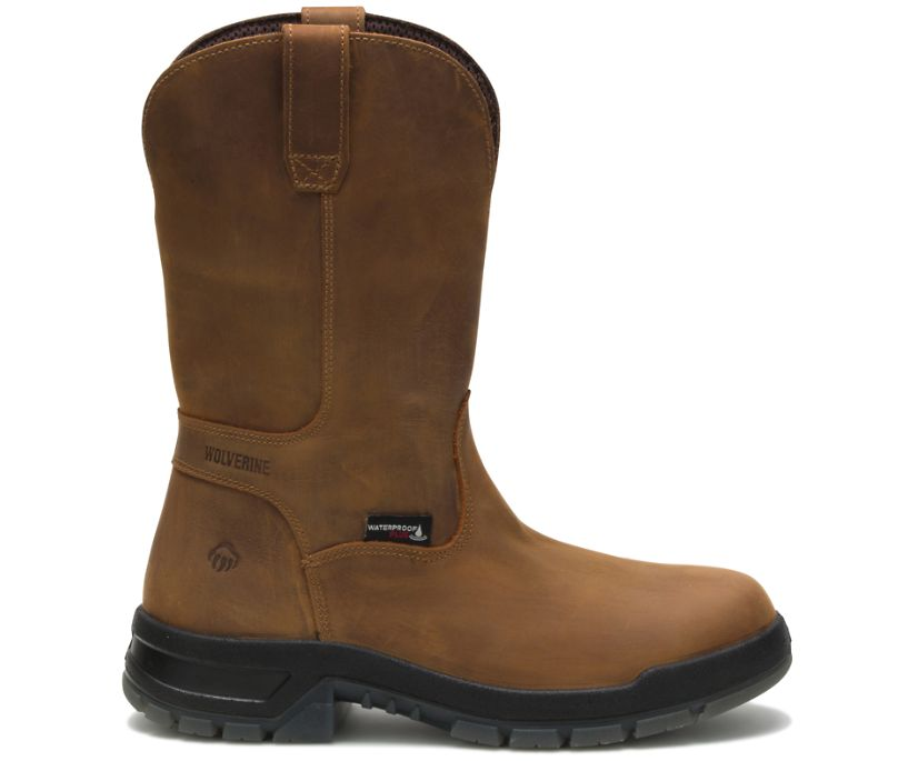 Ramparts Wellington Boot, Tan, dynamic