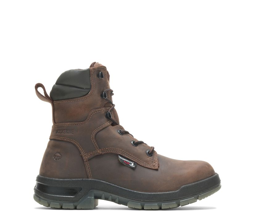 "Ramparts CARBONMAX 8"" Boot, Dark Brown, dynamic"