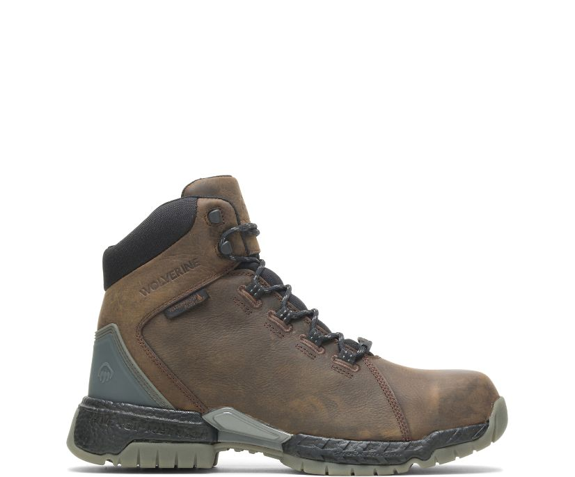 "I-90 Rush 6"" Boot, Brown, dynamic"