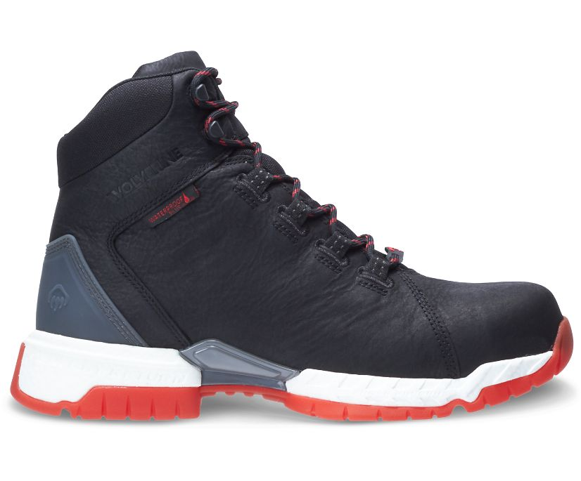"I-90 Rush CarbonMAX 6"" Boot, Black/Red, dynamic"