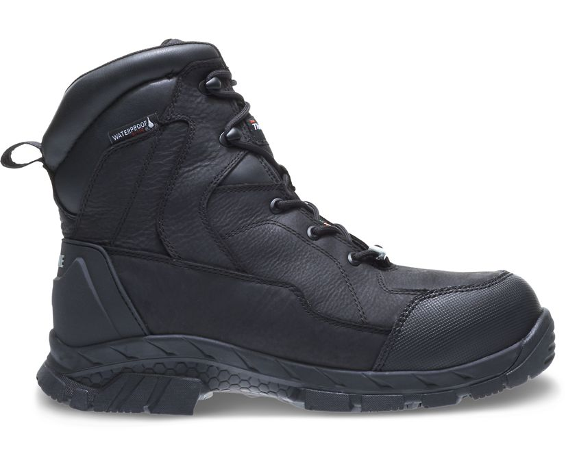 "Glacier CSA Composite Toe Insulated Waterproof 8"" Boot, Black, dynamic"