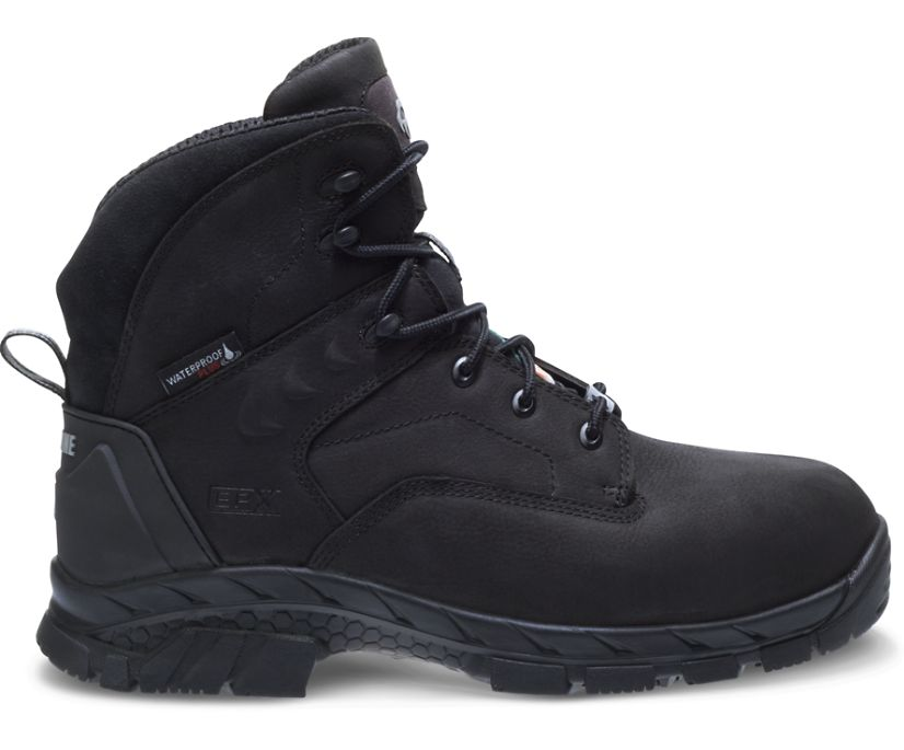 """Glacier CSA Composite Toe Insulated Waterproof 6"""" Boot, Black, dynamic"""